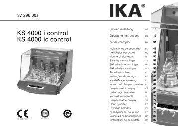 KS 4000 i control KS 4000 ic control
