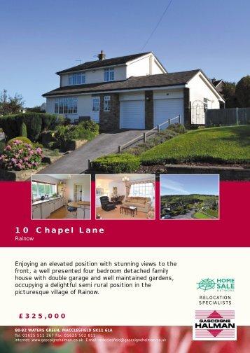 10 Chapel Lane
