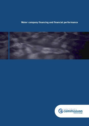 WICS – Financing - Water Industry Commission for Scotland