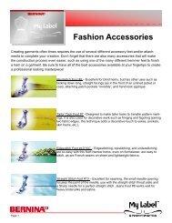 Fashion Accessories - My Label 3D Fashion Pattern Software