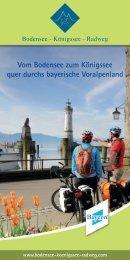 auf dem Bodensee-Königssee- Radweg - Allgäu