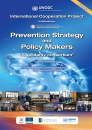 Prevention Strategy Policy Makers - Dronet