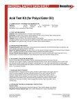 Acid Test Kit (for Polyol Ester Oil) - media - DiversiTech - Page 2