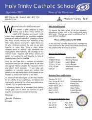 Holy Trinity Catholic School - Wellington Catholic