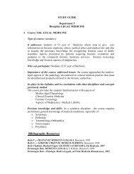 STUDY GUIDE - UMF