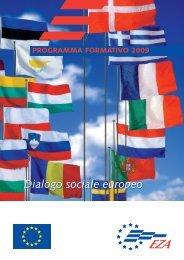 Dialogo sociale europeo - EZA