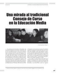 Una mirada al tradicional. Consejo de Curso en ... - Revista Docencia
