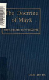 THE Doctrine of Maya - HolyBooks.com