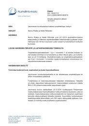 Päätös Nro 43/2011/1 Dnro LSSAVI/86/04.08/2010 Annettu ...