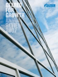 Download the Annual Review (PDF) - Gazprom Marketing & Trading