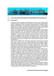 BAB 5 Transparansi dan Akuntabilitas - P2KP