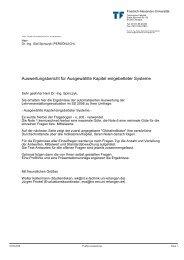 Auswertungsbericht für Ausgewählte Kapitel eingebetteter Systeme