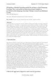 Designing a blended learning model for primary school ... - ICL