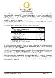 Disciplinare Rifugi Alpini rev 110711 Pagina 1/5 Il presente ...