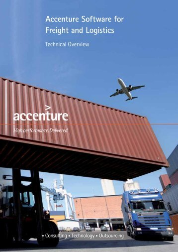 Accenture Software for Freight and Logistics