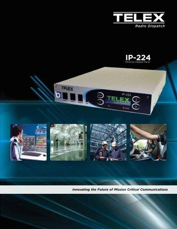 IP-224 Brochure - Telex