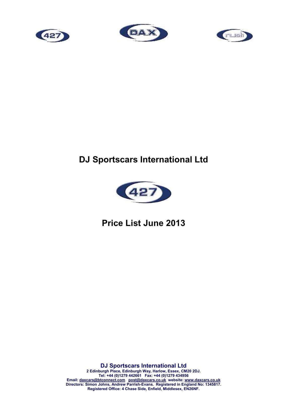 Free Magazines From DAXRUSHCOUK - Sports cars international