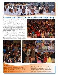 DH Fall Winter 2012 - Camden City Public Schools