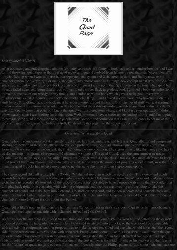 Quadraphonic Sound.pdf - An International Archive of Sound Art