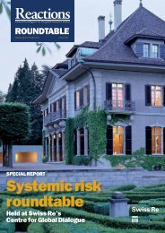 systemic risk roundtable - Reactions