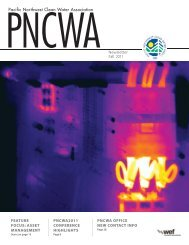 Pacific Northwest Clean Water Association ... - PNCWA Home