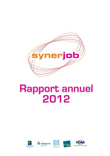 Rapport annuel 2012 - VDAB