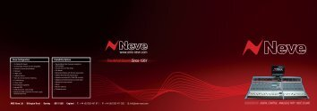 Genesys Brochure - AMS Neve