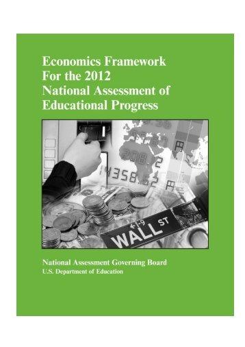 Economics Framework - National Assessment Governing Board