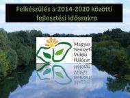 Gyebnár Péter előadása - Magyar Nemzeti Vidéki Hálózat