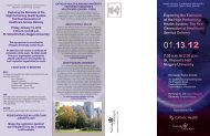 Niagara University - Catholic Health System