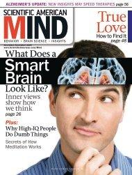 Scientific American Mind -- November 2009 - FSU High Energy ...