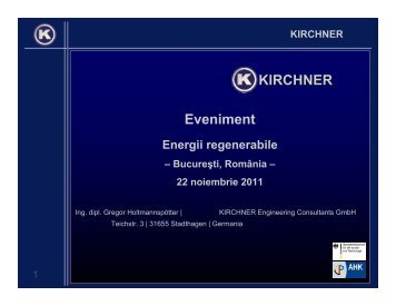 Eveniment KIRCHNER - Econet Romania