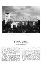 LUNDE KIRKE - Danmarks Kirker