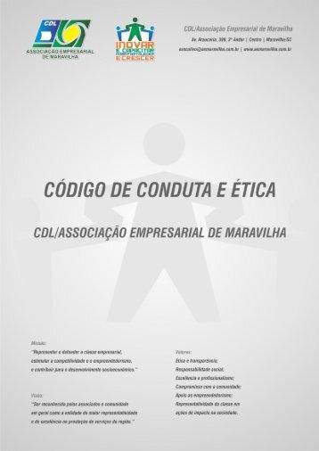 Código de Conduta e Ética da CDL/Associação Empresarial de ...