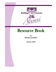Resource Book - Alumni - Truman State University