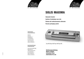 SOLIS MAXIMA
