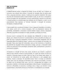ABC DO DESIGN SEBRAE-SP