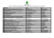 Scarica l'elenco delle officine autorizzate alla revisione veicoli
