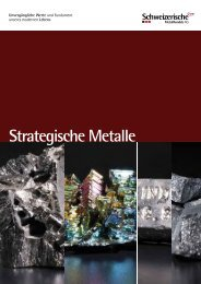 Strategische Metalle