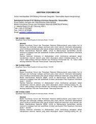 Standar Nasional Indonesia (SNI) - Badan Koordinasi Survei dan ...