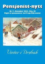 Vinter i Drøbak - Pensjonist-nytt