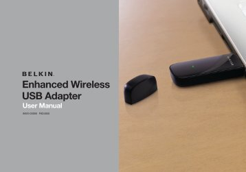 Enhanced Wireless USB Adapter - Belkin