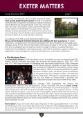 ers exeter matters - Exeter College - Page 5