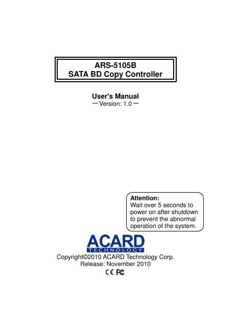 ACARD ARS-2037 WINDOWS 8.1 DRIVERS DOWNLOAD