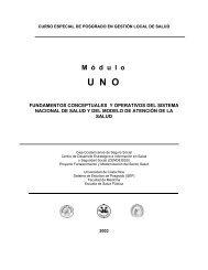 Fundamentos conceptuales y operativos del sistema ... - CENDEISSS