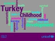 Early Childhood Development in Turkey
