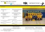 Ausgabe 7: 14. Spieltag, Saison 2012/2013 - DJK Eintracht Hiltrup