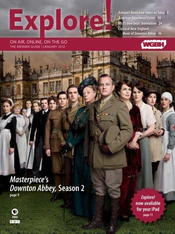 Masterpiece's Downton Abbey,Season 2 - WGBH