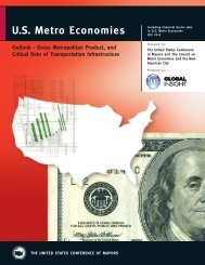 U.S. Metro Economies: Outlook – Gross Metropolitan Product, and