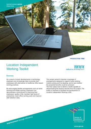 Location Independent Working Toolkit - East Midlands Councils